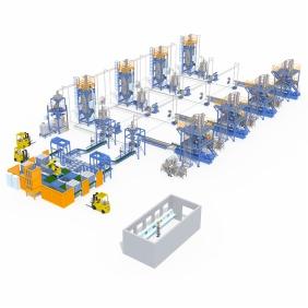 熔喷料产线设备