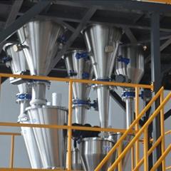 灵鸽口罩熔喷料专用配料系统 为高质量的口罩产品保驾护航